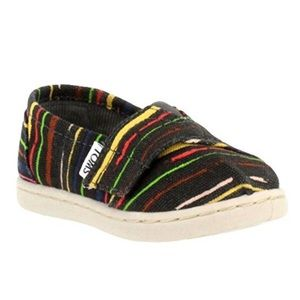 TOM's •T6 Colorful Stripe Shoes